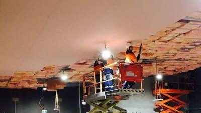 Fire rated Suspended Ceiling